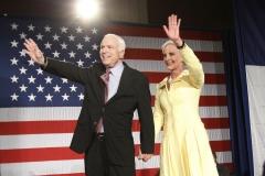 Senator John McCain and Cindy McCain campaign, 2008