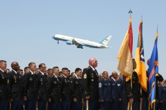 Arizona Procession, Memorial, and Departure