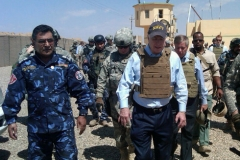 Senator John McCain in Iraq, May 2009