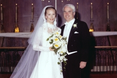 Cindy and John McCain Wedding Portrait, 1980