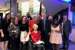 McCain family at Roberta McCain's 105th birthday, 2017