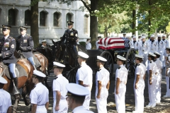 Senator McCain Laid to Rest at the U.S. Naval Academy